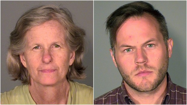 Kate Havelin and Brian Heilman pleaded guilty to misdemeanor charges for their role in the July 2016 I-94 demonstration. (Courtesy of the Ramsey County sheriff's office)