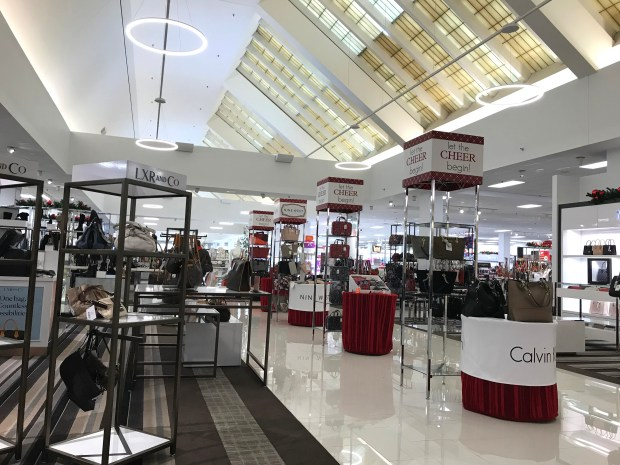 The newly remodeled Herberger's at Rosedale Center in Roseville. Photographed Nov. 3, 2017. (Nancy Ngo / Pioneer Press)