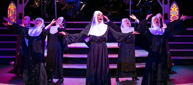 """""""Sister Act"""" (Photo courtesy of the Chanhassen Dinner Theatre"""