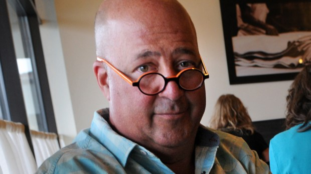 "Celebrity chef Andrew Zimmern -- who has the ""Bizarre Foods"" series on the Travel Channel -- is 55. He came to Minnesota via Hazelden and, like so many before him, stayed. (Pioneer Press: Jean Pieri)"