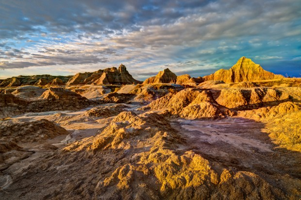Badlands National Park (Courtesy of the South Dakota Department of Tourism)