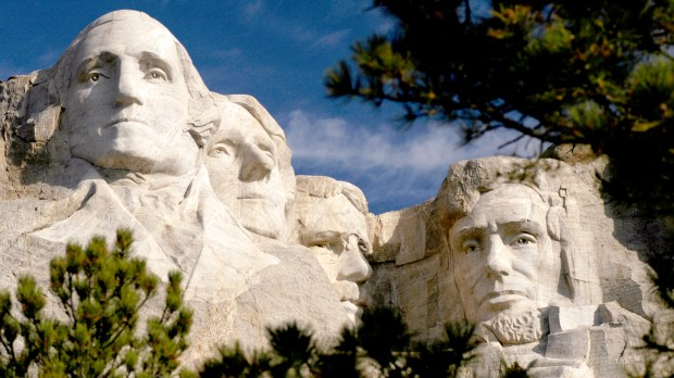 Mount Rushmore (Courtesy of South Dakota Department of Tourism)