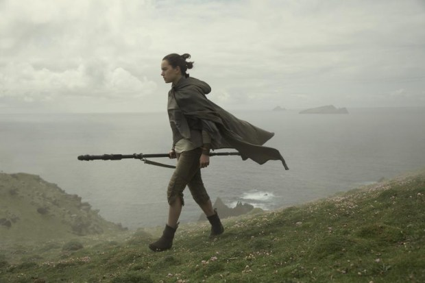"Daisy Ridley in ""Star Wars: The Last Jedi."" (Lucasfilm Ltd.)"