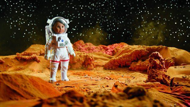Meet Luciana Vega, an aspiring astronaut just announced as American Girl's 2018 Girl of the Year. (Courtesy of American Girl)