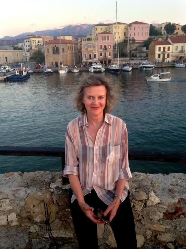 Holly Anderson is pictured in the Greek city of Chania, in Crete, on July 5, 2015. (Courtesy of Lucy Kane)