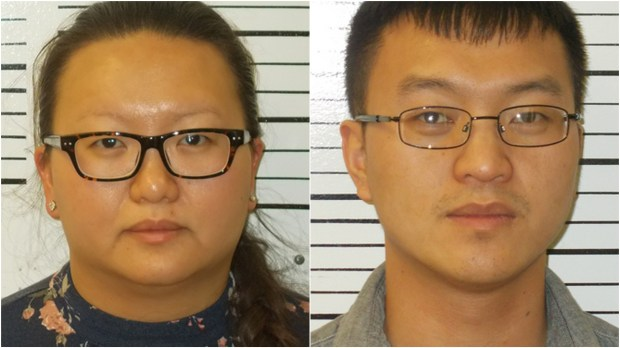 Mae Thao, 31, St. Paul, and Xang Thao, 30, Redding, Calif., were charged Tuesday, Dec. 12, 2017, in Southeast District Court in Jamestown, N.D., with possession of a controlled substance with intent to deliver marijuana, a Class A felony. (Courtesy of the Stutsman County sheriff's office)