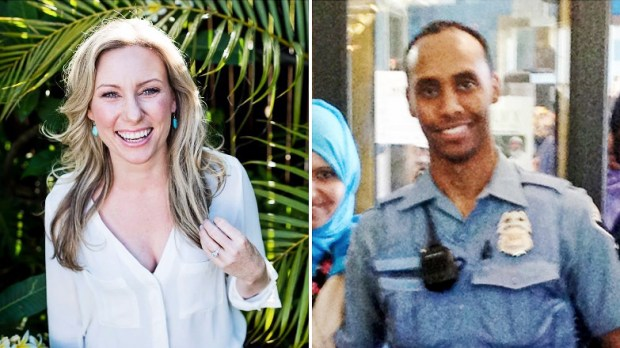 Justine Damond, left, and Mohamed Noor