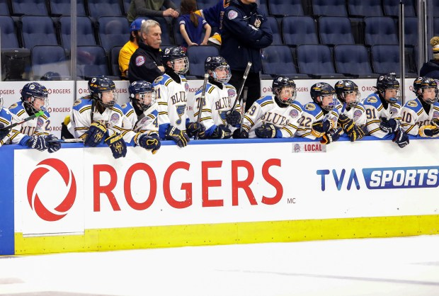 One of the biggest events for the city is the Pee-wee Quebec international hockey tournament, the largest in the world, bringing in thousands of the world's best 12-year-old players, some of whom will some day play in the NHL. Former Blues player John Wensink helps coach the AAA Blues teams that have played there for the past 30 years. (Brian Sirimaturos/St. Louis Post-Dispatch/TNS)