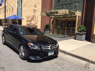 An s550 Mercedes sedan from TotalLimo. (Courtesy of TotalLimo)