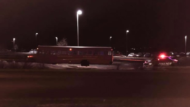 Police say one person was fatally shot and another wounded early Saturday, March 24, 2018, after a fight broke out on a party bus in Inver Grove Heights. (Courtesy of Inver Grove Heights Police Department)