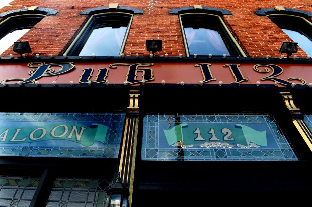 Construction continues on Pub 112 Wednesday, Feb. 28, 2018, which will reopen as Pearl and the Thief in downtown Stillwater. (Jean Pieri / Pioneer Press)