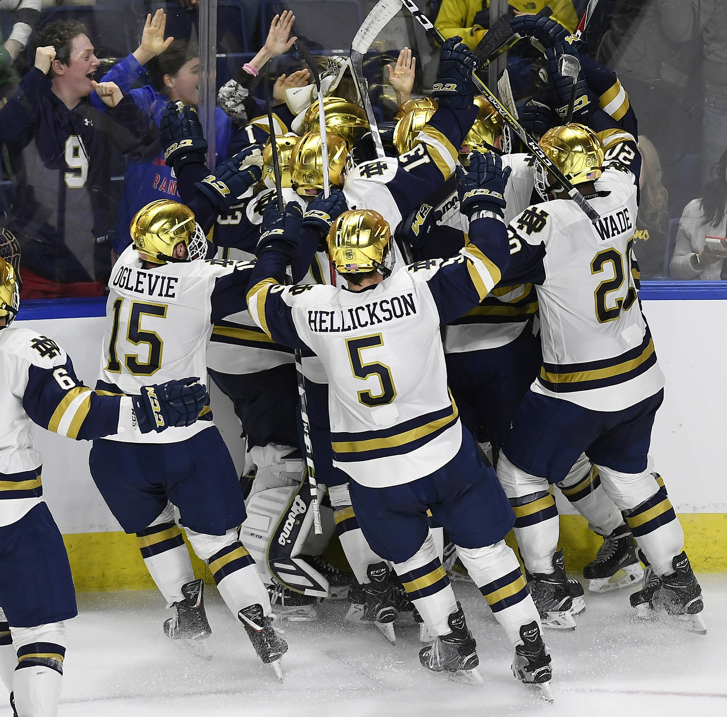Frozen Four is set after Ohio State upsets Denver