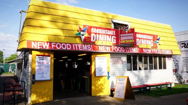The Robbinsdale OES Dining Hall at the Minnesota State Fair is closing and will be replaced by a Pronto Pup operation. (Photo courtesy Facebook)