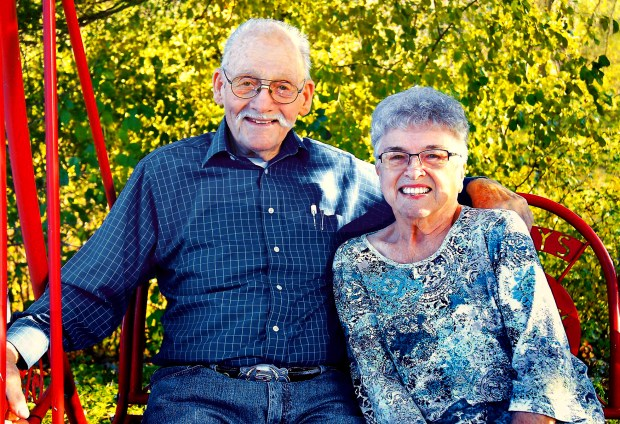 Wilbert Scheel, 93, and Gloria Scheel, 80, of Paynesville, Minn., were found dead March 22, 2018, in their car along a rural road in Kandiyohi County. Their grandson, 33-year-old Gregory Scheel, has been charged in the deaths. (Paynesville Press Facebook)