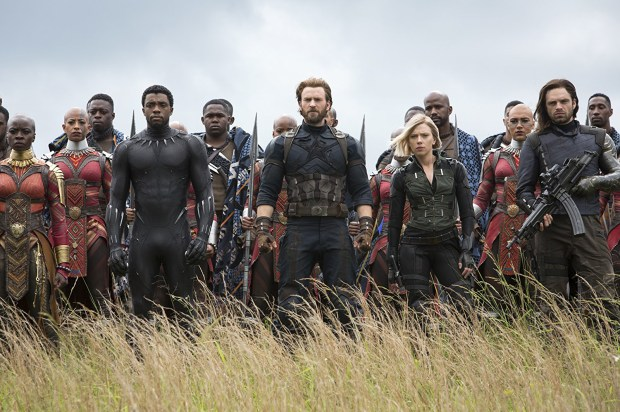 "Superheroes suit up for ""Avengers: Infinity War."" (Marvel Studios)"