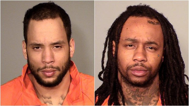 Montrell Dominique Harris and Livon Cortez Bradford are charged in an April 9, 2018, home invasion in St. Paul. (Courtesy of the Ramsey County sheriff's office)