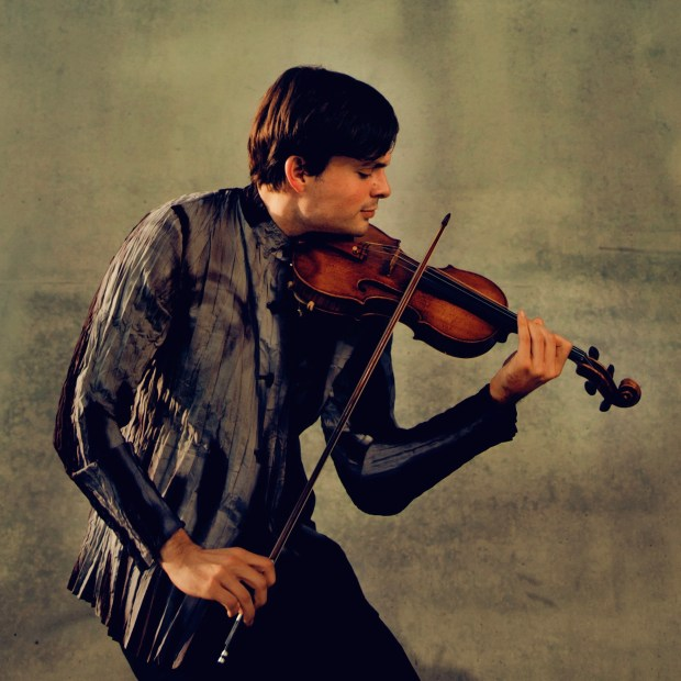Principal violinist Francisco Fullana is the featured soloist at this weekend's St. Paul Chamber Orchestra concerts. (Photo: Felix Broede)