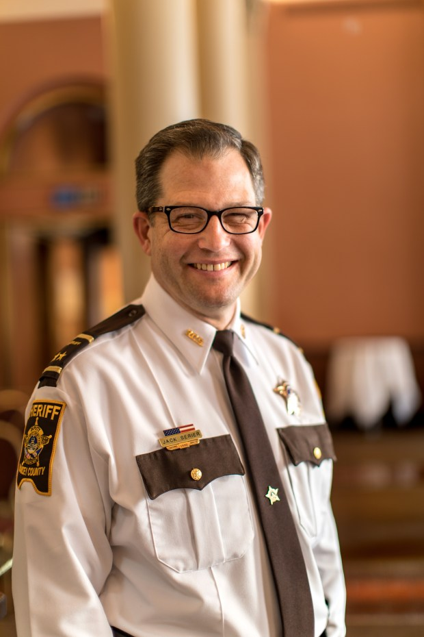Undated courtesy photo, circa May 2018, of Ramsey County Sheriff Jack Serier for a Q and A with the two Ramsey County sheriff candidates in advance of the DFL endorsing convention this Sunday, May 6, 2018. (Courtesy of Committee to Elect Jack Serier)