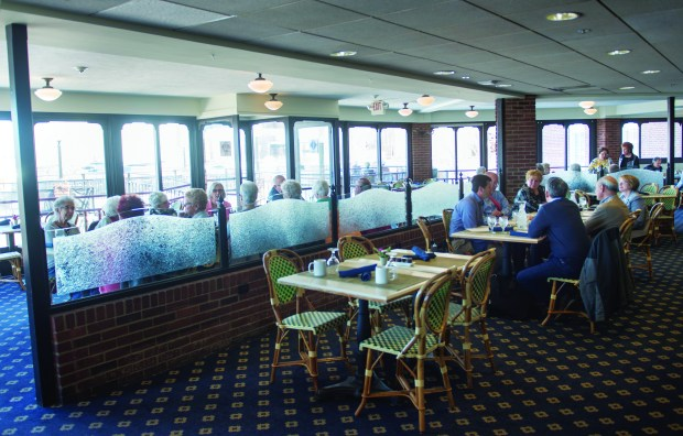 The Veranda in the St. James Hotel offers reliable fare in a gorgeous, classic, historical space Thursday, April 19, 2018. (Special to the Pioneer Press: Craig Lassig)