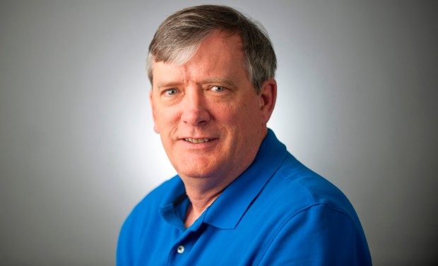 This undated photo shows reporter John McNamara of the Capital Gazette.  McNamara was one of the victims when an active shooter targeted the newsroom, Thursday, June 28, 2018 in Annapolis, Md.  (The Baltimore Sun via AP)