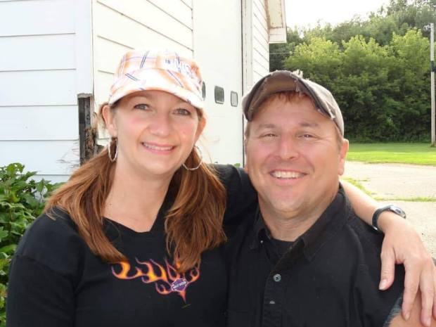 Susie and Steve Nanney of Ham Lake, were killed Friday, June 15, 2018, when their motorcycle collided with a pickup truck in Elk River. Steve Nanney was a police officer with the Blaine Police Department. (courtesy Blaine Police Department)