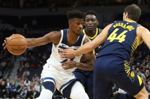 Timberwolves' bench delivers in win over Pacers