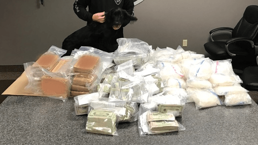 Traffic stop led to West St  Paul seizure of 45 pounds of