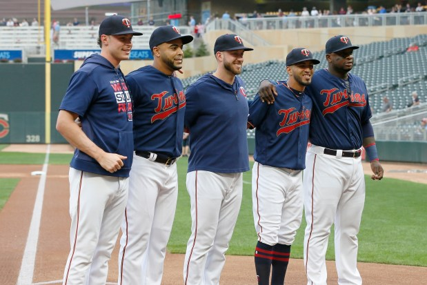 Twins honor record group of 30-home run hitters