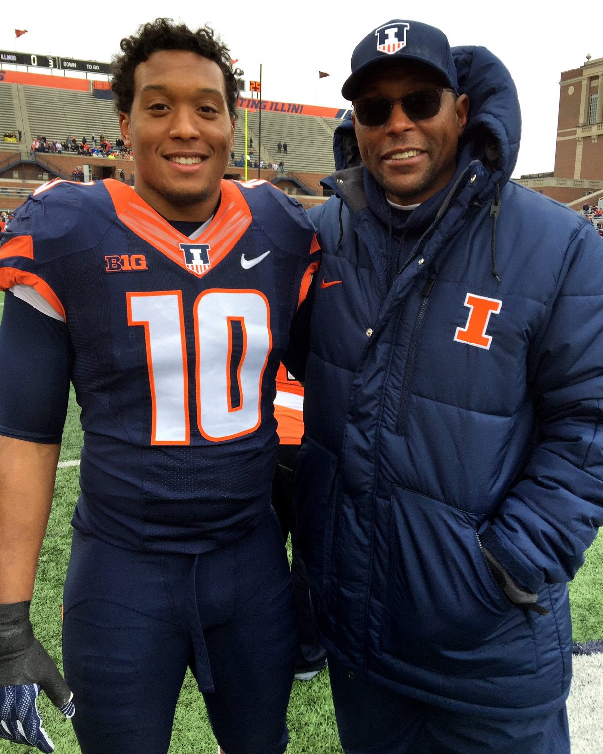 Vikings' Hardy Nickerson following in footsteps of his father, a ...