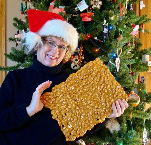Vintage 80s Christmas Tree Cookie Mold Brown Bag Recipes