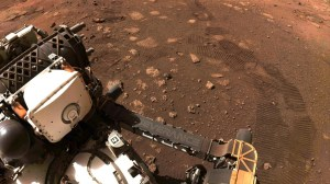 NASA's new Mars rover took to the dusty red road, the first trip of 21 meters – Twin Cities