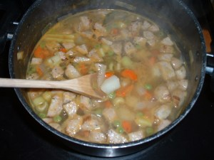 homemade soup