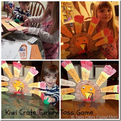 Making the Turkey Toss Game