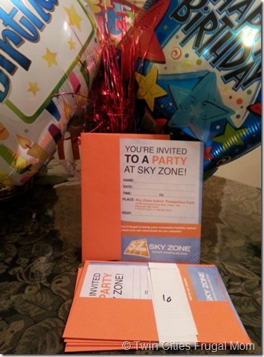 Sky Zone Indoor Trampoline Park Birthday Party Review a 10