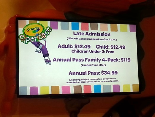 crayola experience mall of america review 6 ways to save on