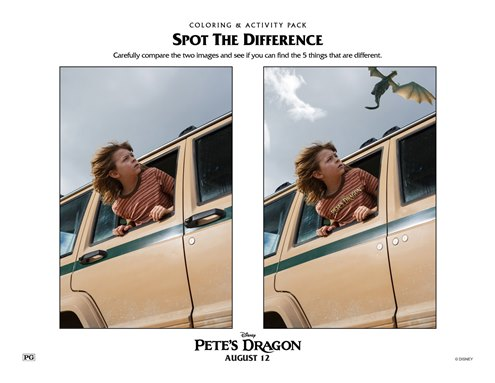 PetesDragonSpotDifference