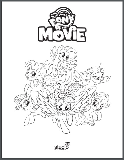 My Little Pony Coloring Pages | 539x418