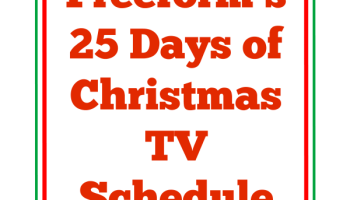freeforms 25 days of christmas tv schedule