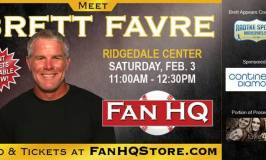 Touchdown at Ridgedale with Brett Favre Autograph Signing (Giveaway!)