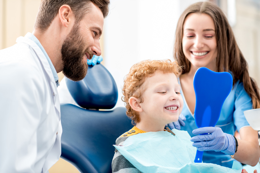 finding a dentist for child