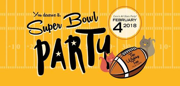 super bowl party wishing tree play cafe