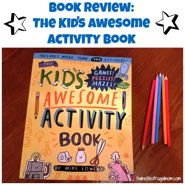 The Kid's Awesome Activity Book Review