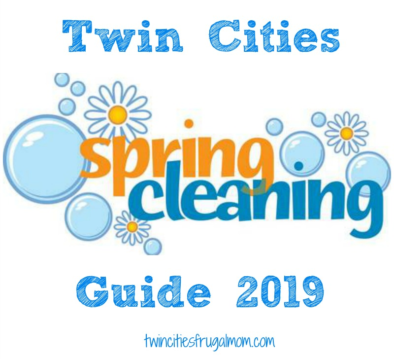 Twin Cities Spring Cleaning Guide 2019 - Twin Cities Frugal Mom