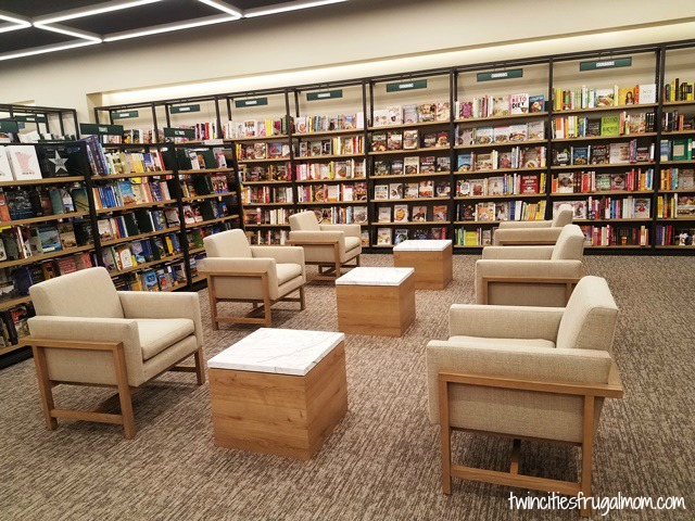 Modern Seating inside store