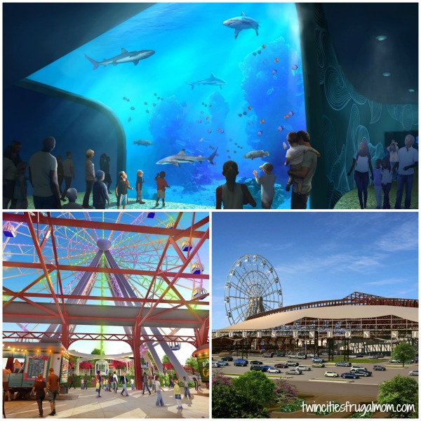 Glimpses of the new St. Louis Aquarium and attractions