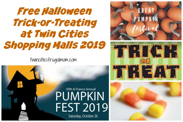 Free Trick-or-Treating at Twin Cities Shopping Malls 2019