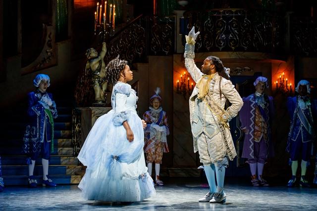 Rajane Katurah and Dwight Leslie in Cinderella | Photo by David Rubene Photography