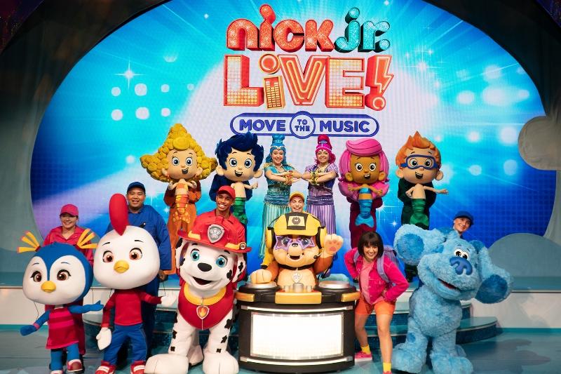 Nick Jr. Cast