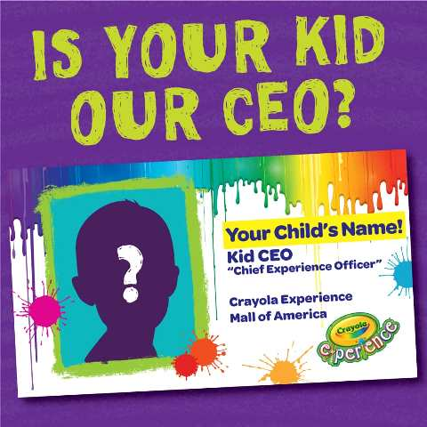 Crayola Kid CEO