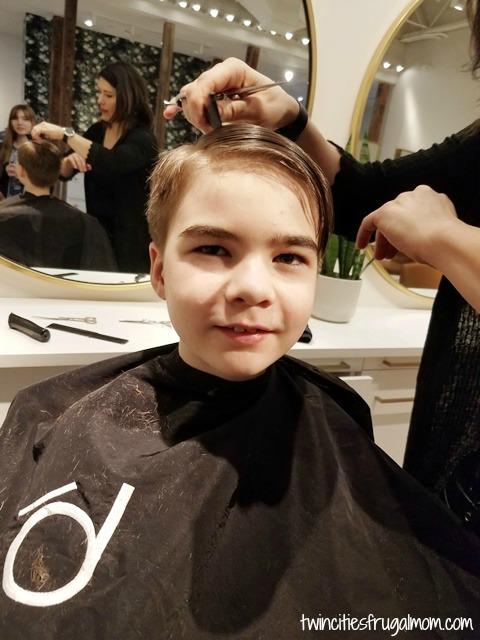 Sensory hair cut